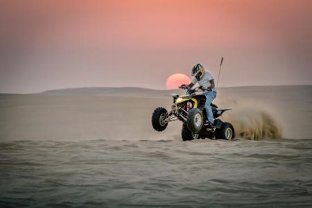 Sand Dunes Holidays Quad Biking